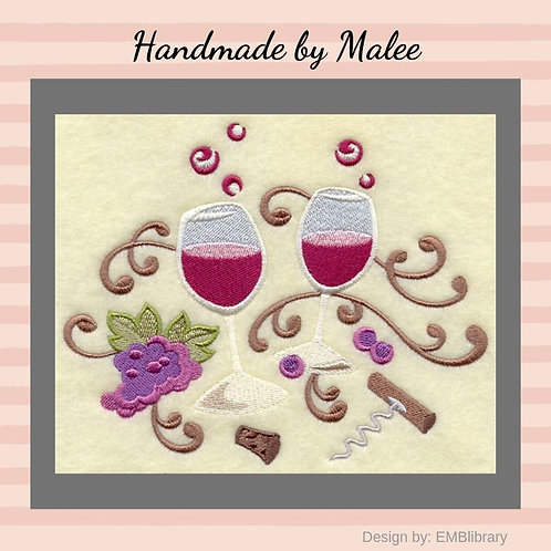 Whimsical Wine Glasses
