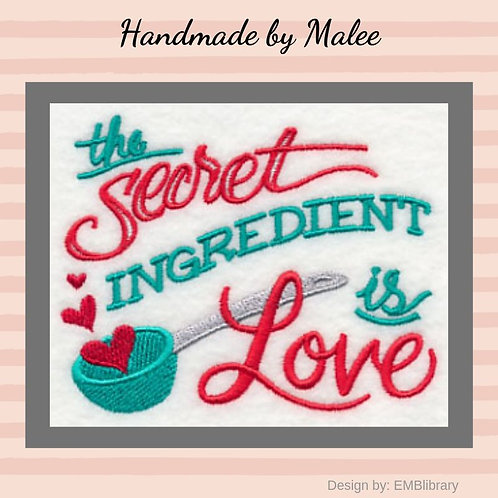 Secret Ingredient Is Love Kid's Apron