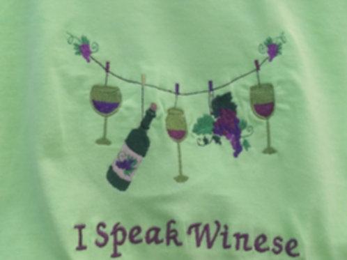 I Speak Winese