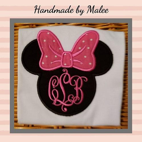 Minnie Head Monogram