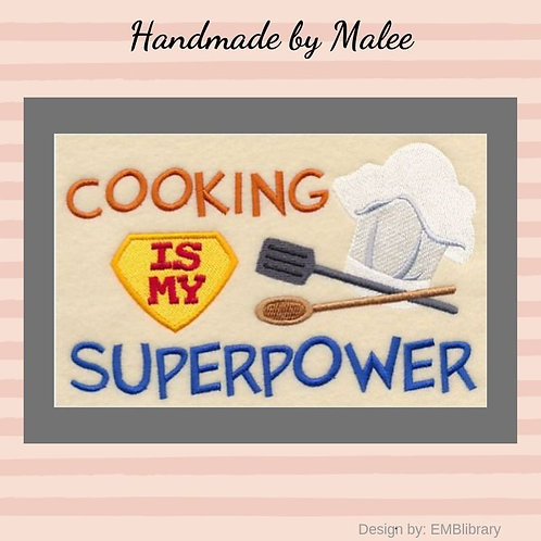 Cooking Is My Superpower