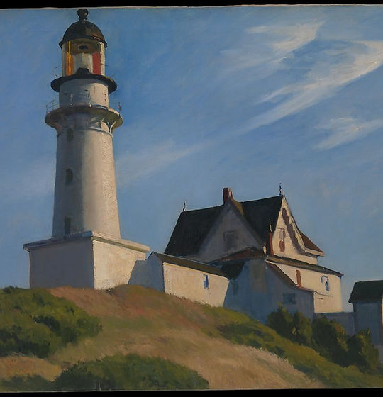 Lighthouse at Two Lights - Hopper.jpg
