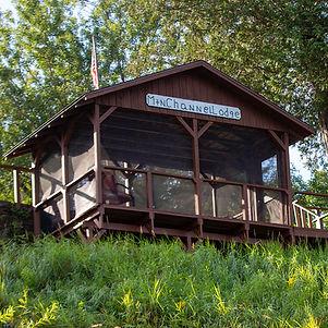 Mountain Channel Salmon Lodge Gazebo