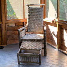 Lounge in in your screened porch...
