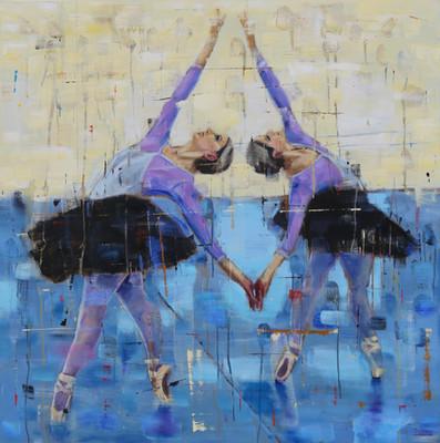 Dancer in Purple