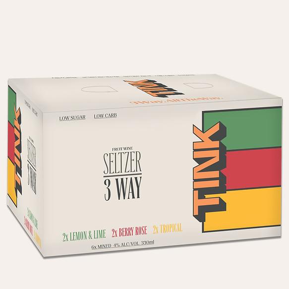 TINK Seltzer 3WAY 6 Pack
