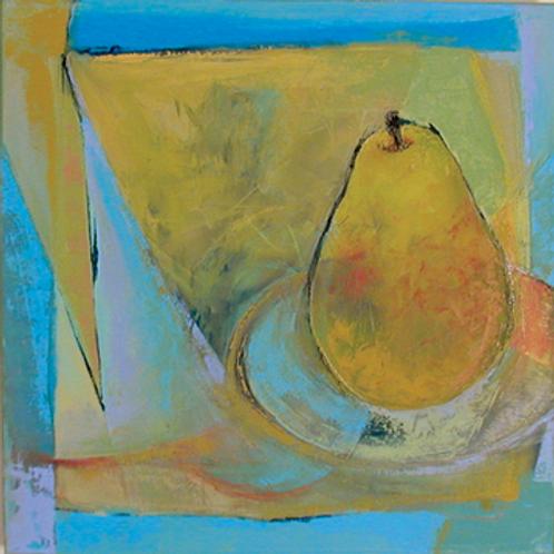 """Pear in Blue"""