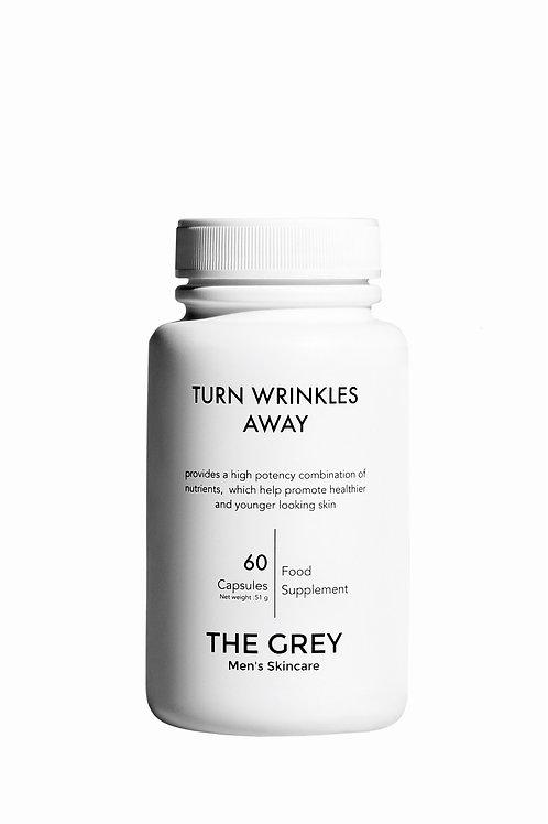 THE GREY Men's Skincare Turn Wrinkles Away