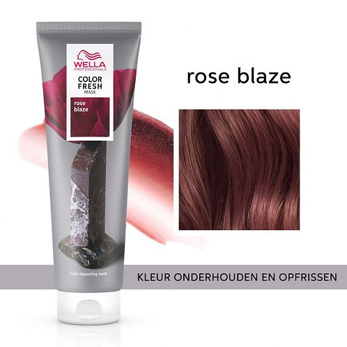 Wella Color Fresh Mask Rose Blaze