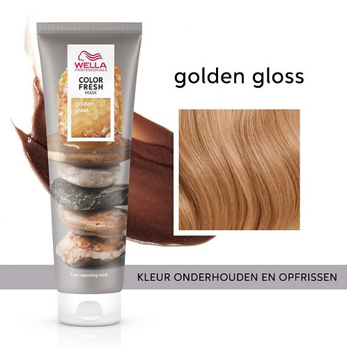 Wella Color Fresh Mask Golden Gloss