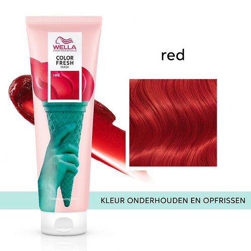 Wella Color Fresh Mask Red