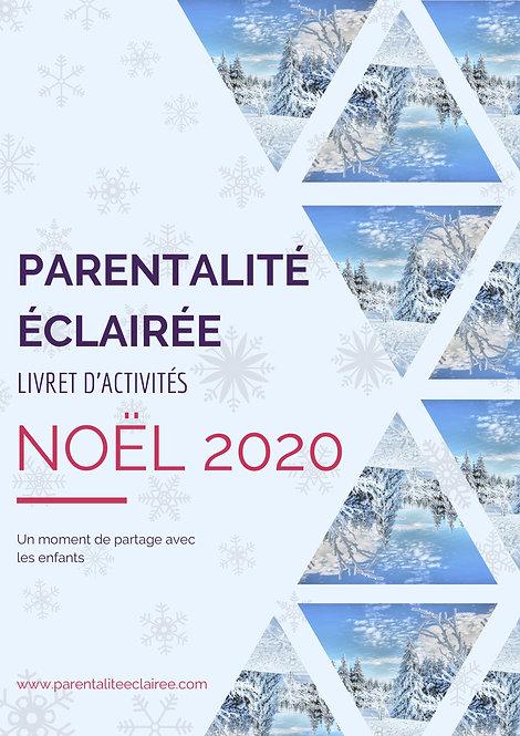Livret d'activités de Noël 2020