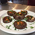 Couscous stuffed mushrooms