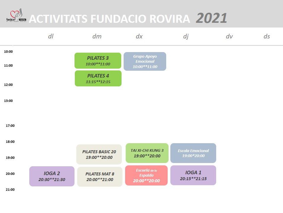 HORARIOS ACTIVIDADES 2021_enero a abriil