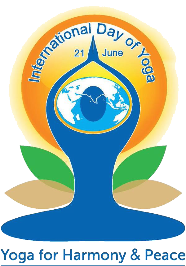 Yoga Day Logo