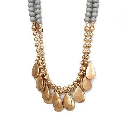 Ash Gray Necklace