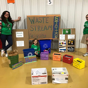 Washington Irving says Howdy to the Recycling Game!