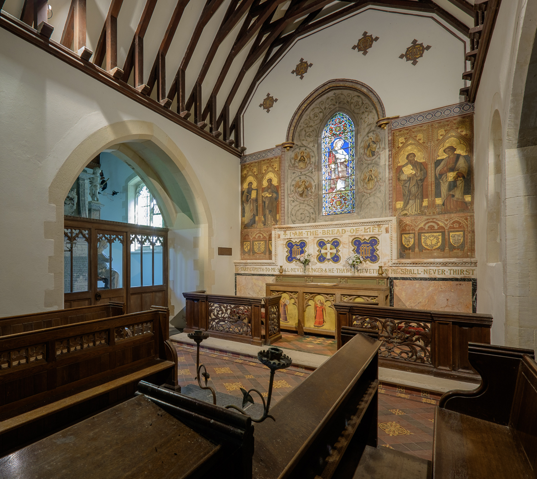 All Saints' Church, Waldershare,Kent.