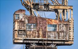 Rusting old Crane.