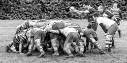 Whitstable Rugby Scrum.