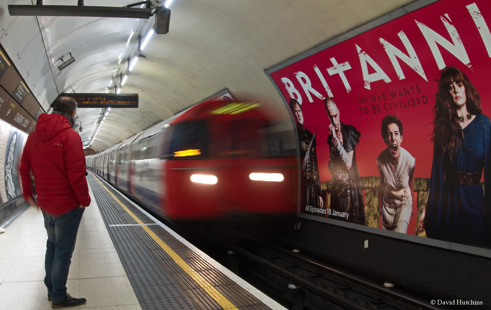 Red on the Underground