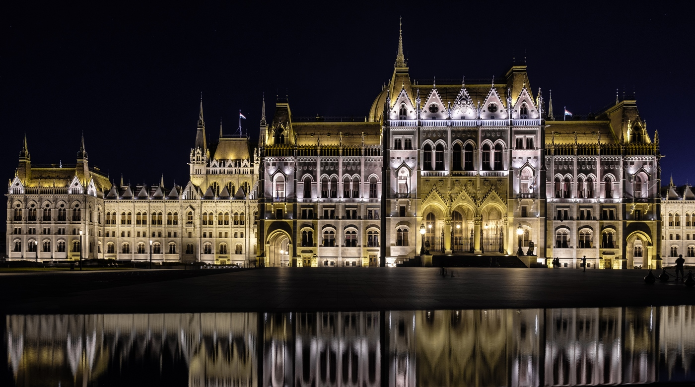 Budapest Parliament and Reflection