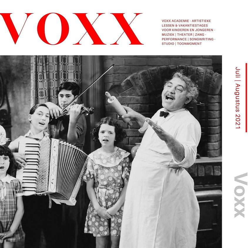 VOXX Theater- en MuziekLAB 2021 | 23 aug tot 27 aug | 8-12 jaar