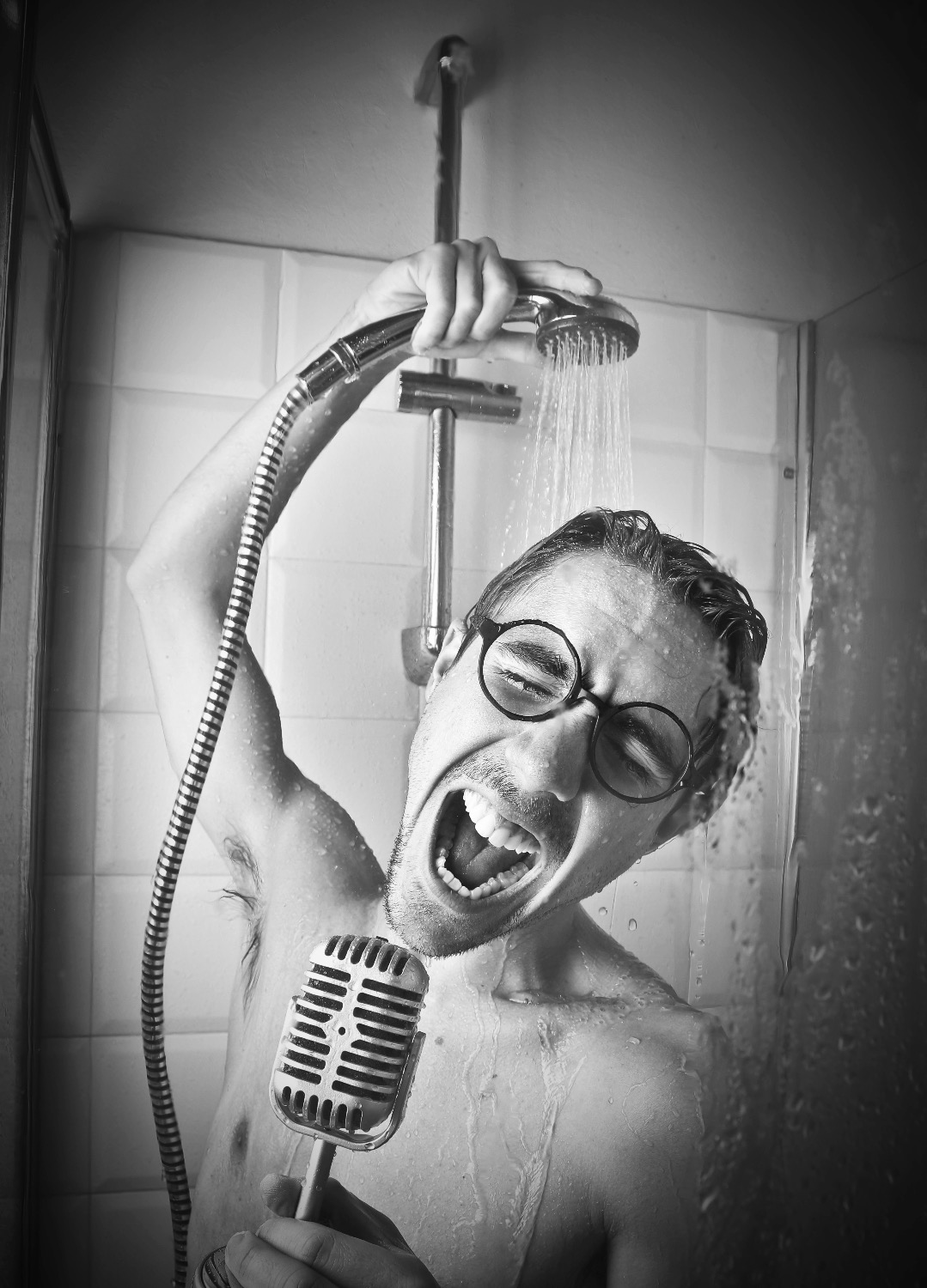 Man singing in the shower_edited