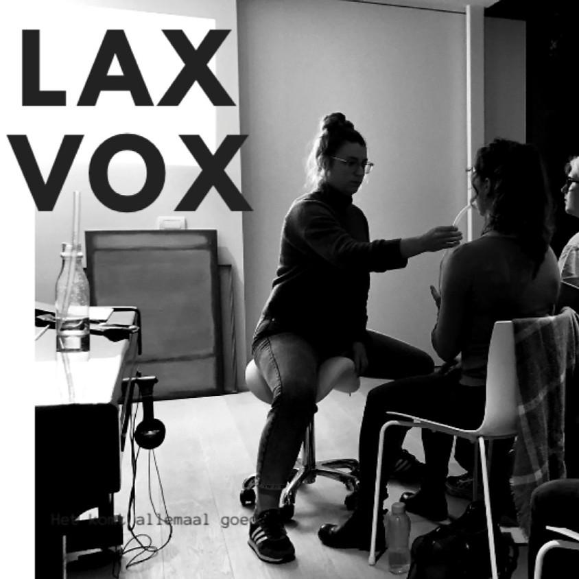 VOICELAB // LAX VOX  // Deel A