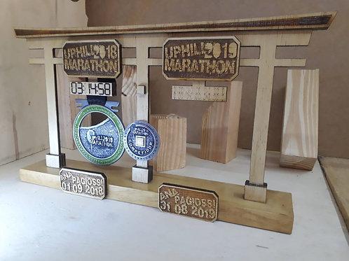 Porta Medalha Duplo Personalizado