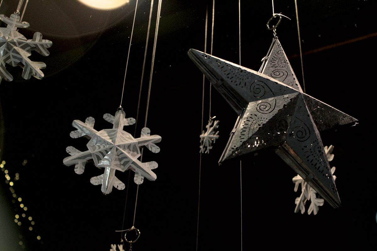 Metal Snowflakes