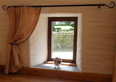 Small bedroom window.