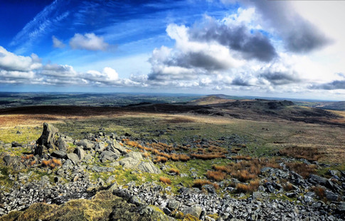 The Spectacular view from the top of Foeldrigarn