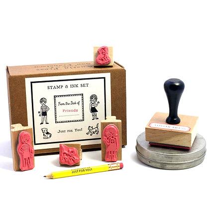 Friends Stamp Set