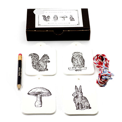 Woodland Tag Set
