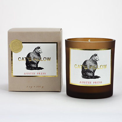 Cat's Pillow Candle