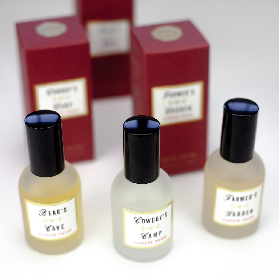 Handmade natural essential oil spray perfume, thank you gift.