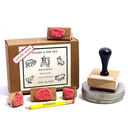 Farm Stamp Set