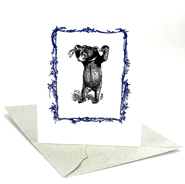 Handmade letterpress stationery gift and thank you cards.