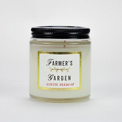 Farmer's Garden Travel Candle