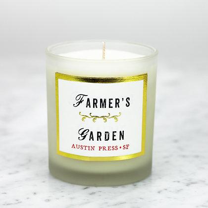 Farmer's Garden Candle