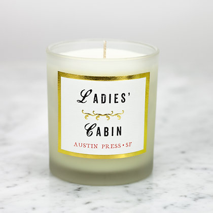 Ladies' Cabin Candle