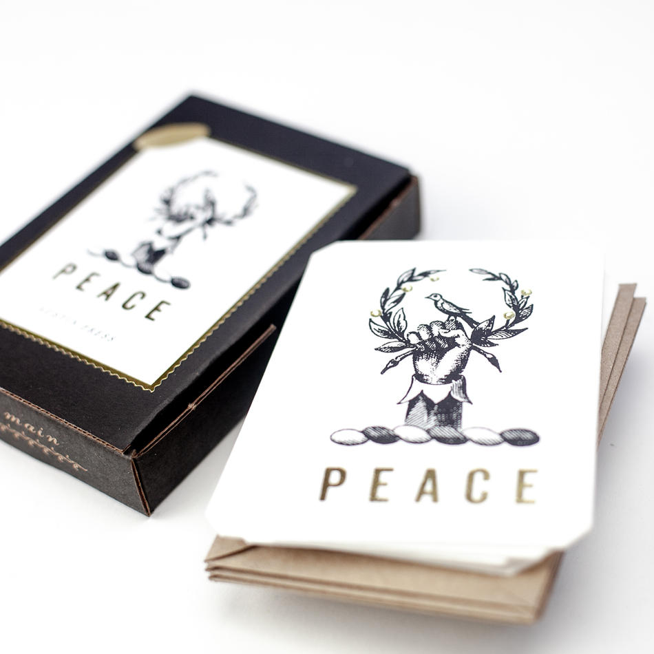 Letterpress stationery Sets, thank you cards, gifts.