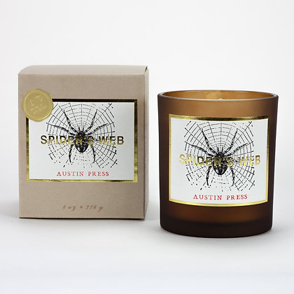 Spider's Web Candle