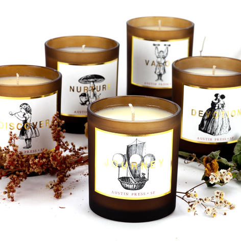 forest candles