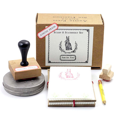 Bunny Wreath Stamp Set