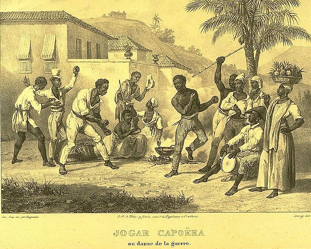 Capoeira, dipinto di Johann Moritz Rugen