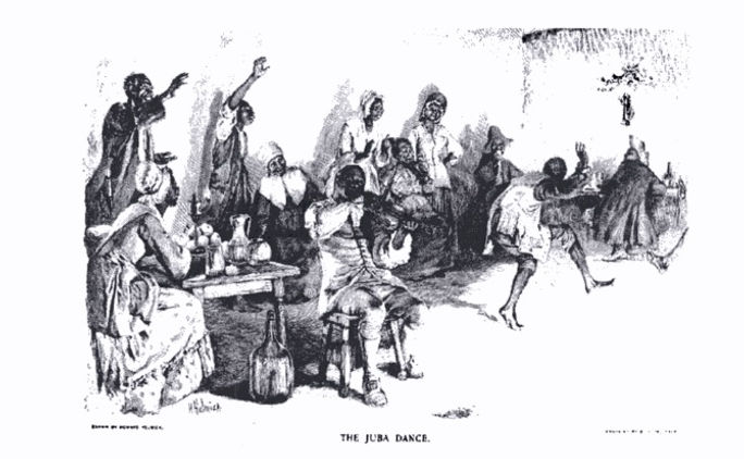 La danza Juba