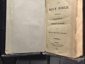La «Bibbia degli schiavi»