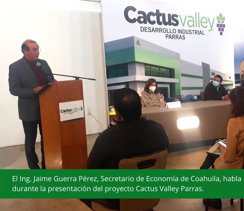 Presentación Cactus Valley Parras